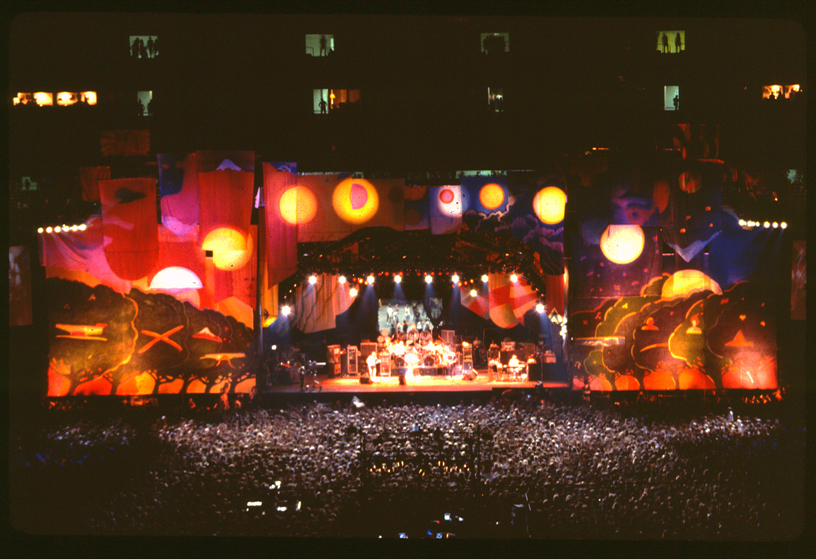 Jan Sawka set for Grateful Dead Giants Stadium 1989